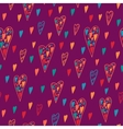 Seamless heart pattern for valentines day vector