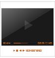 Media player interface vector