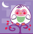 Cute-owl vector