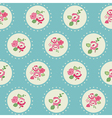 Seamless vintage flower background vector