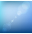 Blue soft colored abstract background with lens vector