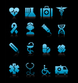 Medicine icons vecior vector