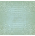 Blue lace grunge polka dot pattern old background vector