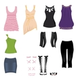 Date clothes vector