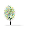 Young tree for your design vector