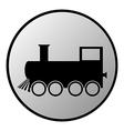 Locomotive button vector