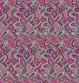 Funky colorful seamless pattern vector