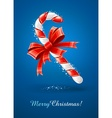 Sweet christmas caramel cane vector