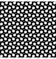 Abstract black rings pattern vector