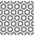 Checkered hexagons seamless pattern vector