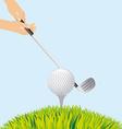 Golf sport vector