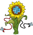 Eco electricity vector