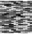 Grey brick background vector