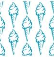Ice cream seamless pattern vector