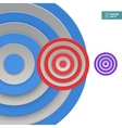 Abstract targets background vector