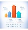 Template in modern style for infographic and vector