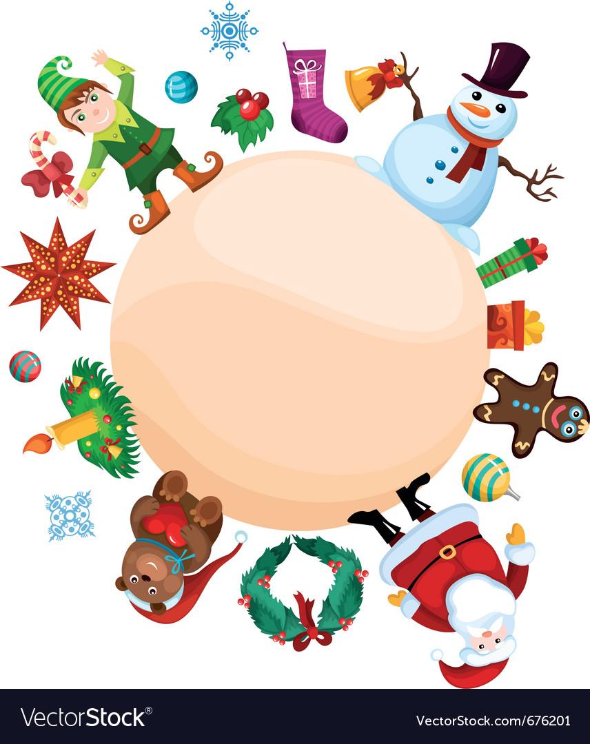 Christmas set vector | Price: 5 Credit (USD $5)