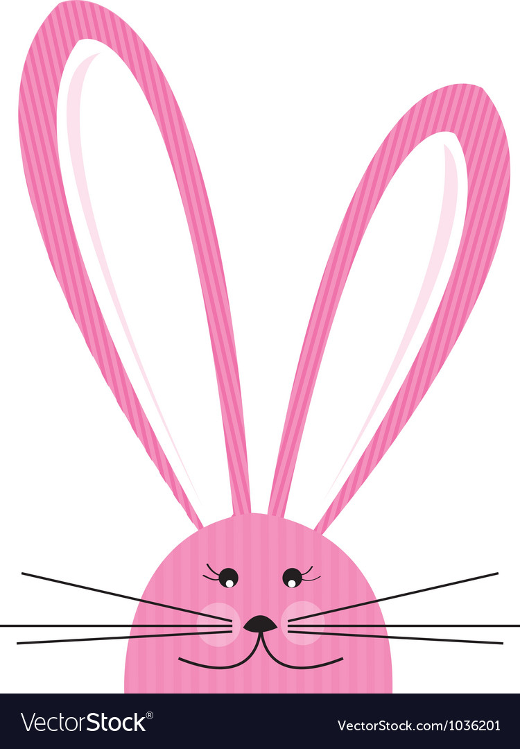 Pinkbunny vector | Price: 1 Credit (USD $1)