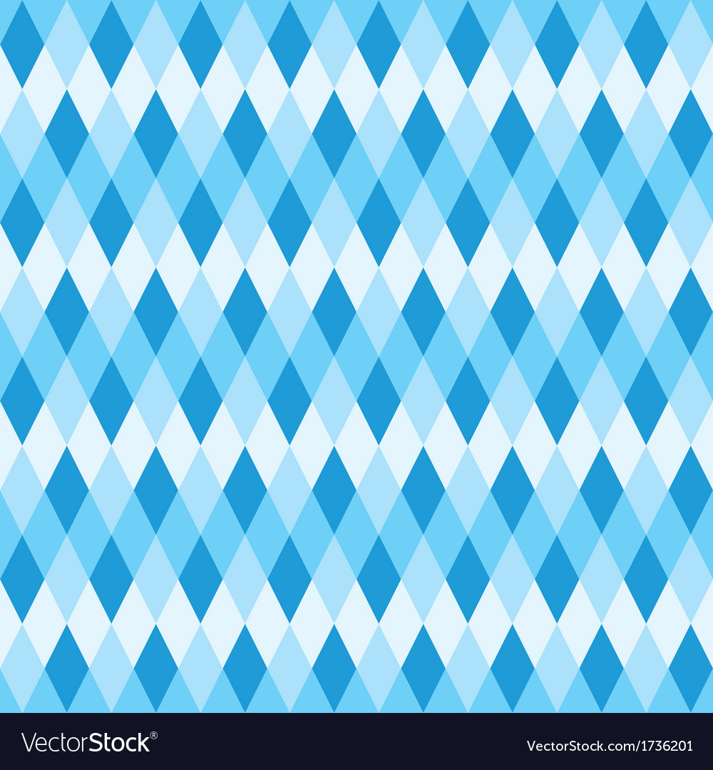 Seamless blue abstract mosaic background vector | Price: 1 Credit (USD $1)