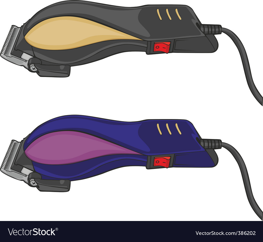 Electric hair clippers vector | Price: 1 Credit (USD $1)