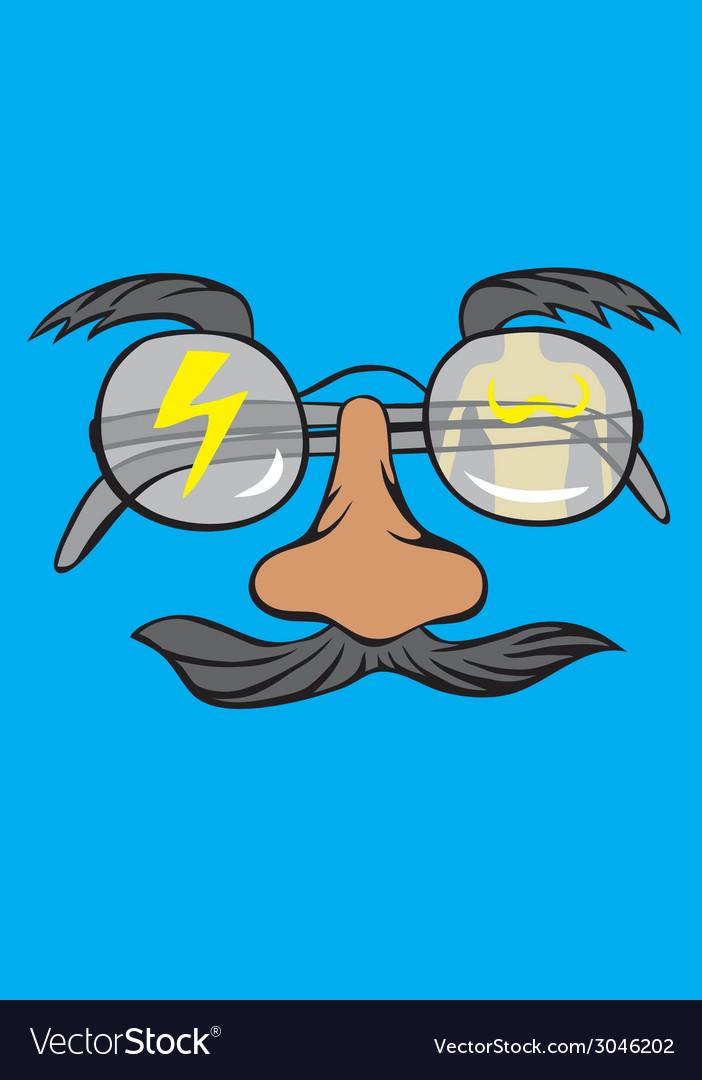 Eyeglass vector | Price: 1 Credit (USD $1)