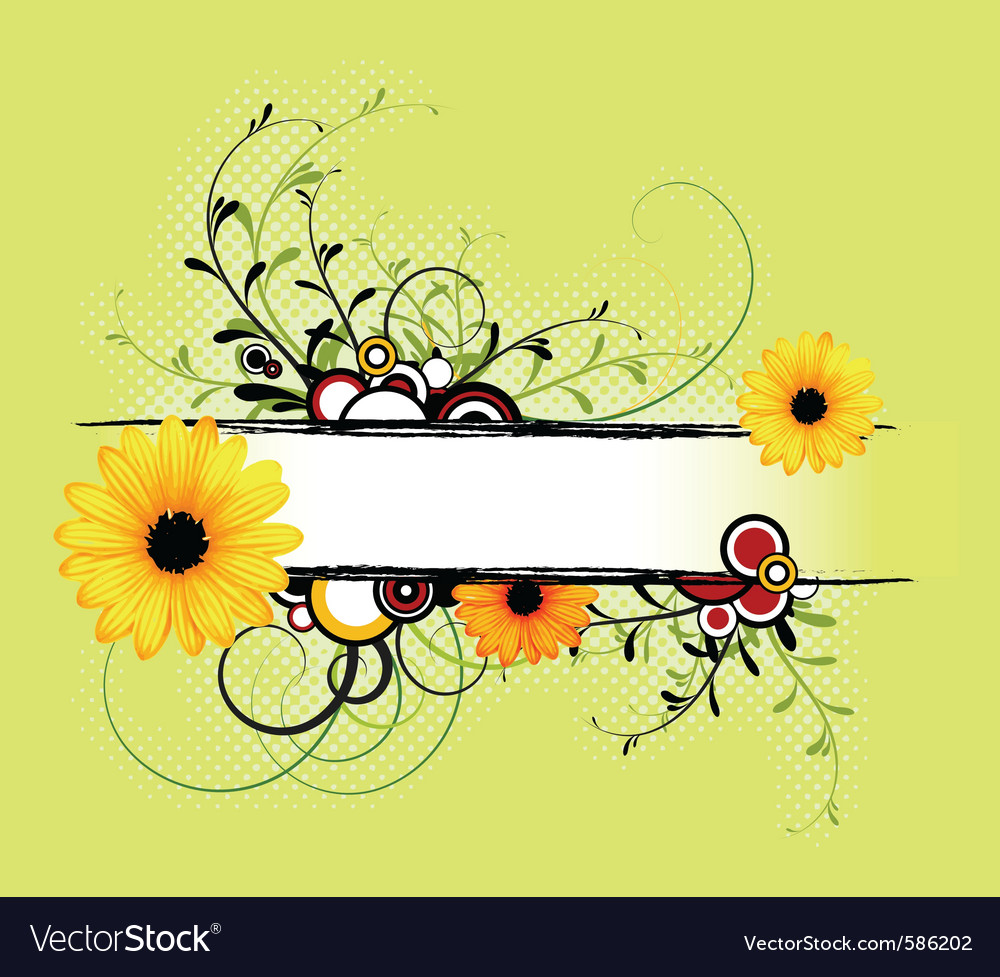 Fresh spring vector | Price: 1 Credit (USD $1)
