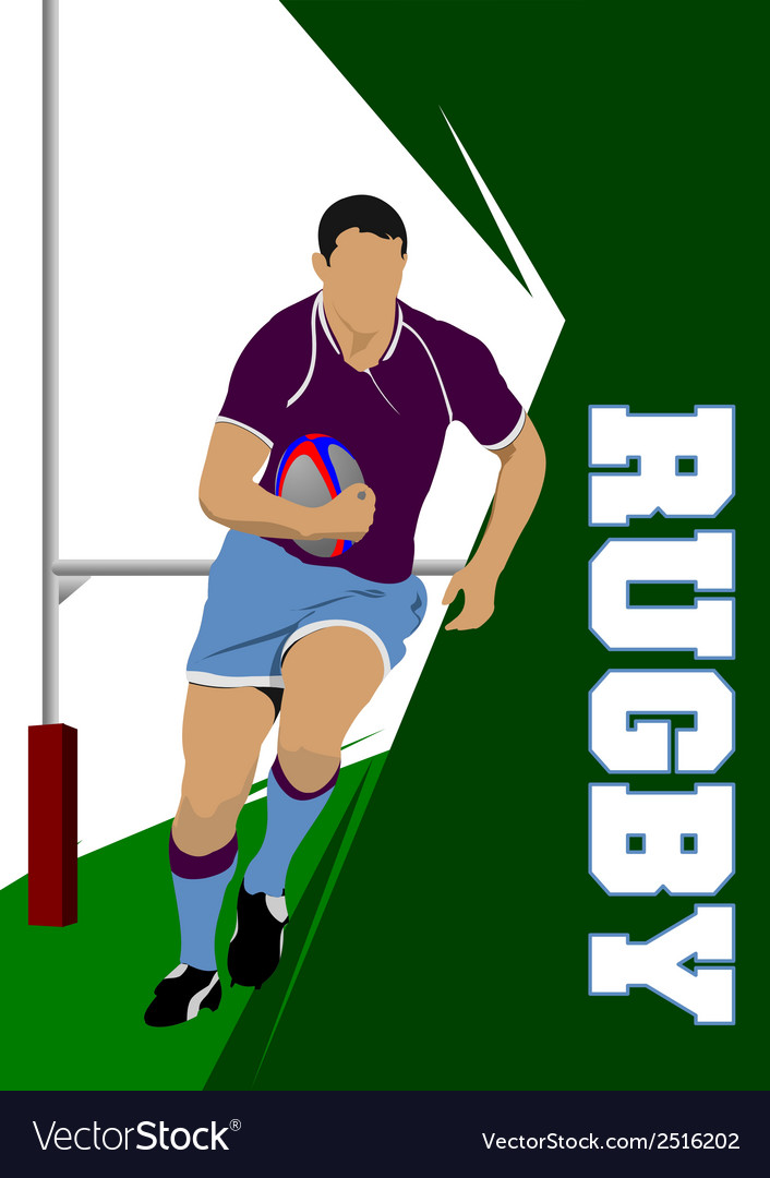 Rugby 02 vector | Price: 1 Credit (USD $1)