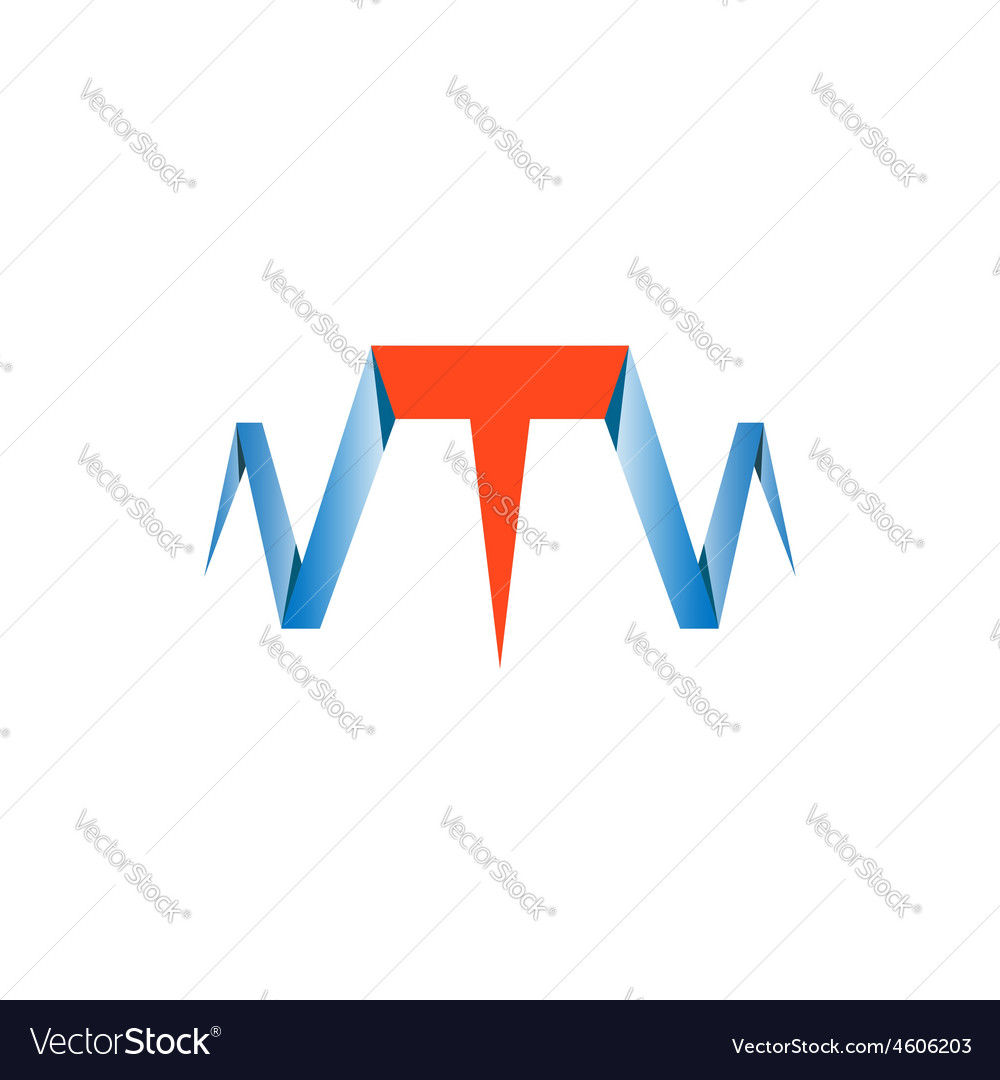 T letter abstract website logo nail symbol vector | Price: 1 Credit (USD $1)