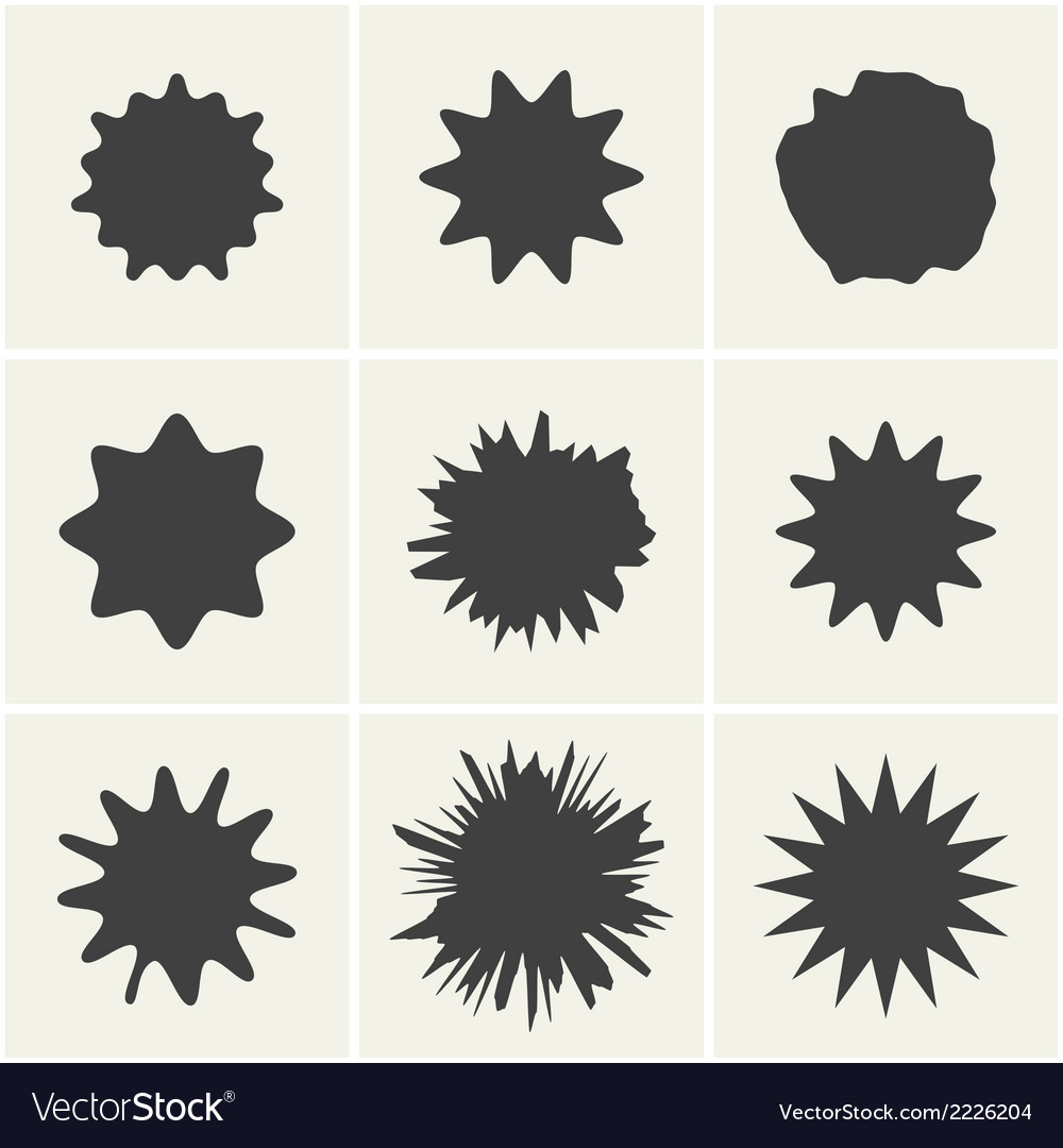 Blots vector | Price: 1 Credit (USD $1)