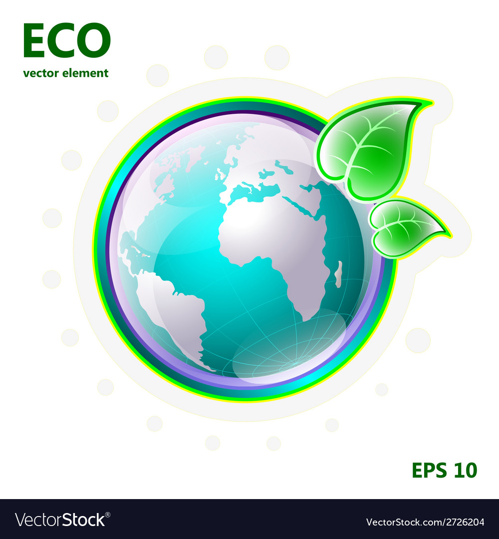 Element for design ecology vector | Price: 1 Credit (USD $1)
