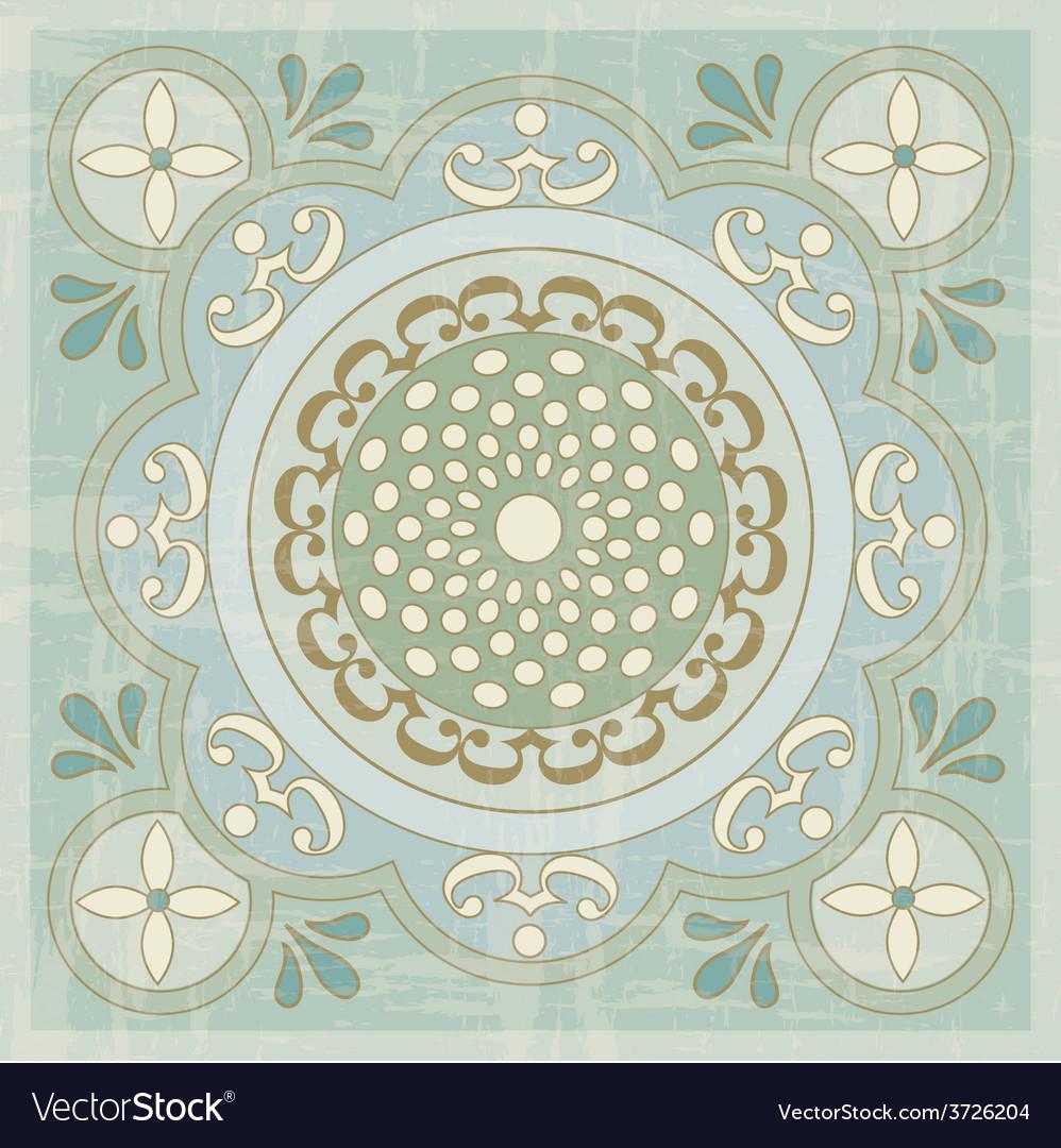 Tile pattern vector | Price: 1 Credit (USD $1)