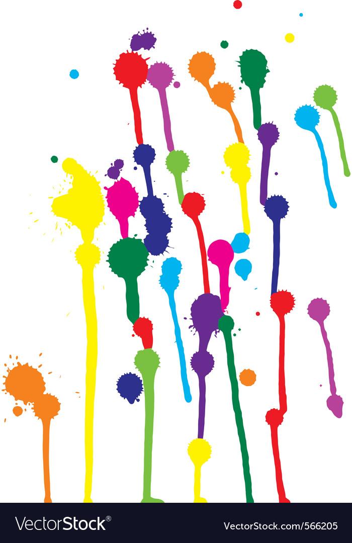 Colorful blots vector | Price: 1 Credit (USD $1)