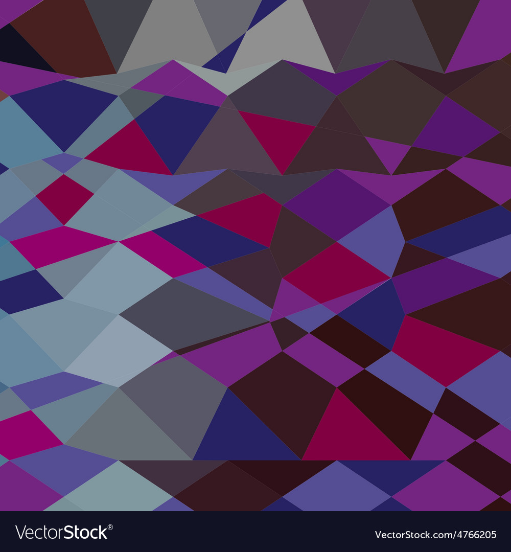 Deep magenta abstract low polygon background vector | Price: 1 Credit (USD $1)