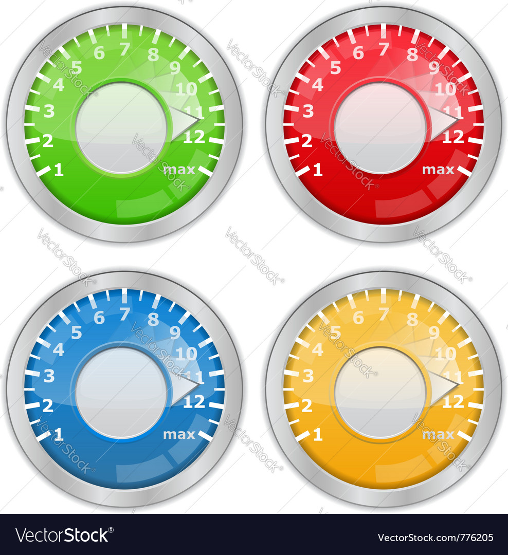 Knobs vector | Price: 1 Credit (USD $1)