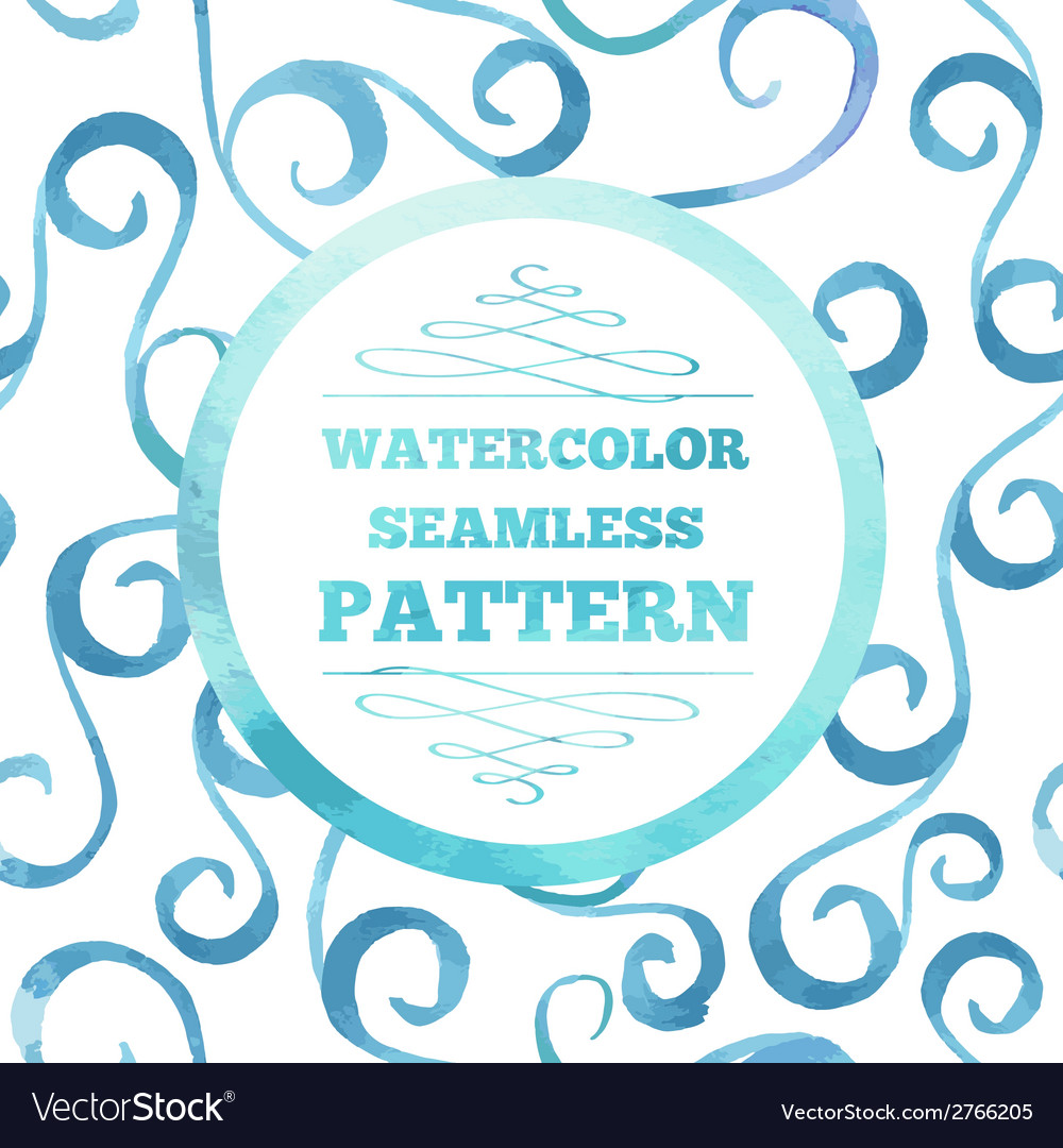 Watecrolor template vector | Price: 1 Credit (USD $1)