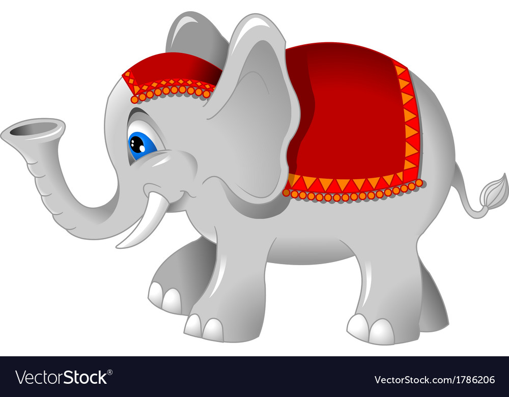 Baby elephant vector | Price: 1 Credit (USD $1)