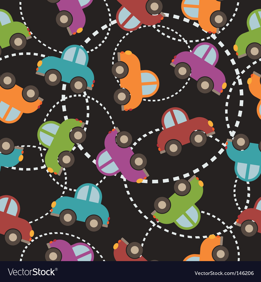 Car pattern vector | Price: 1 Credit (USD $1)