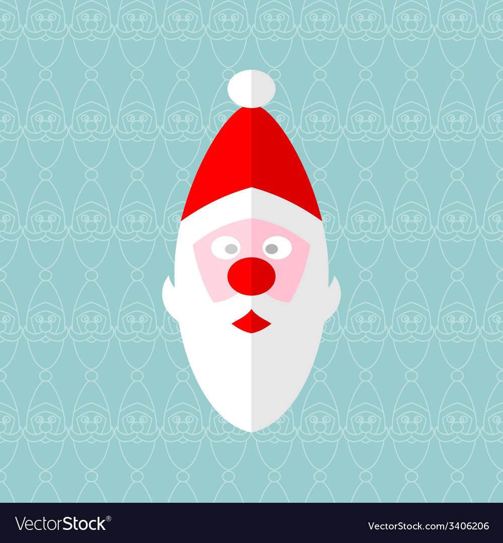 Santa seamless vector | Price: 1 Credit (USD $1)