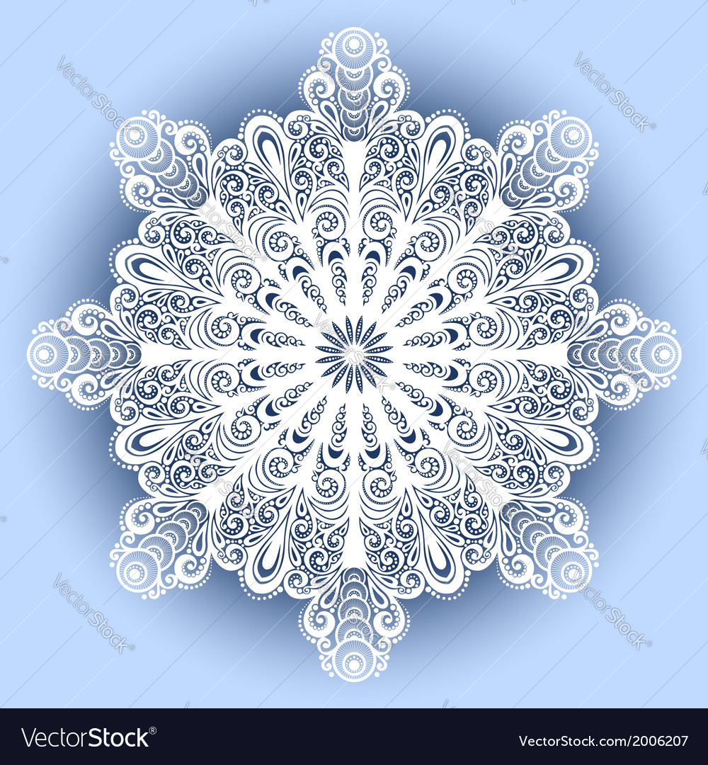Beautiful deco mandala vector | Price: 1 Credit (USD $1)