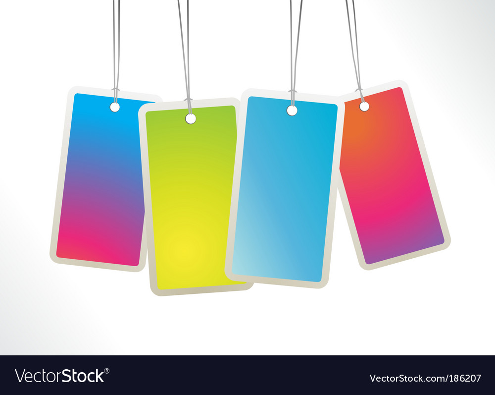 Hanging labels vector | Price: 1 Credit (USD $1)