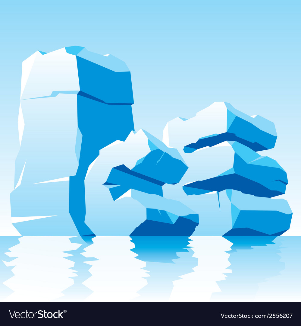 Ice word vector | Price: 1 Credit (USD $1)