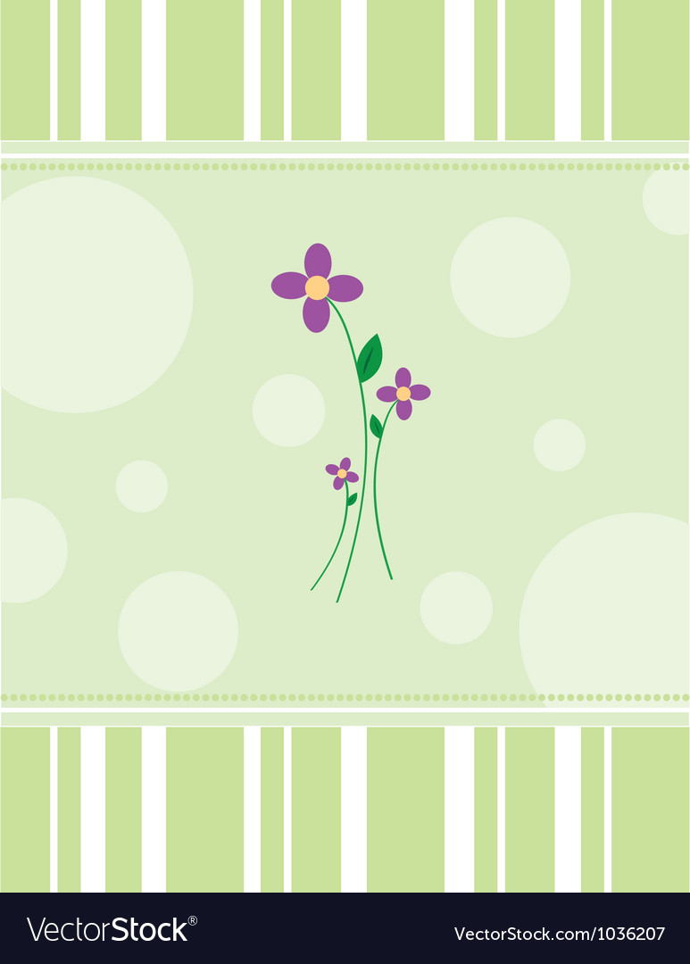 Purpleflowers vector | Price: 1 Credit (USD $1)