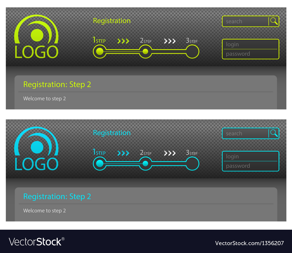 Registration vector | Price: 1 Credit (USD $1)