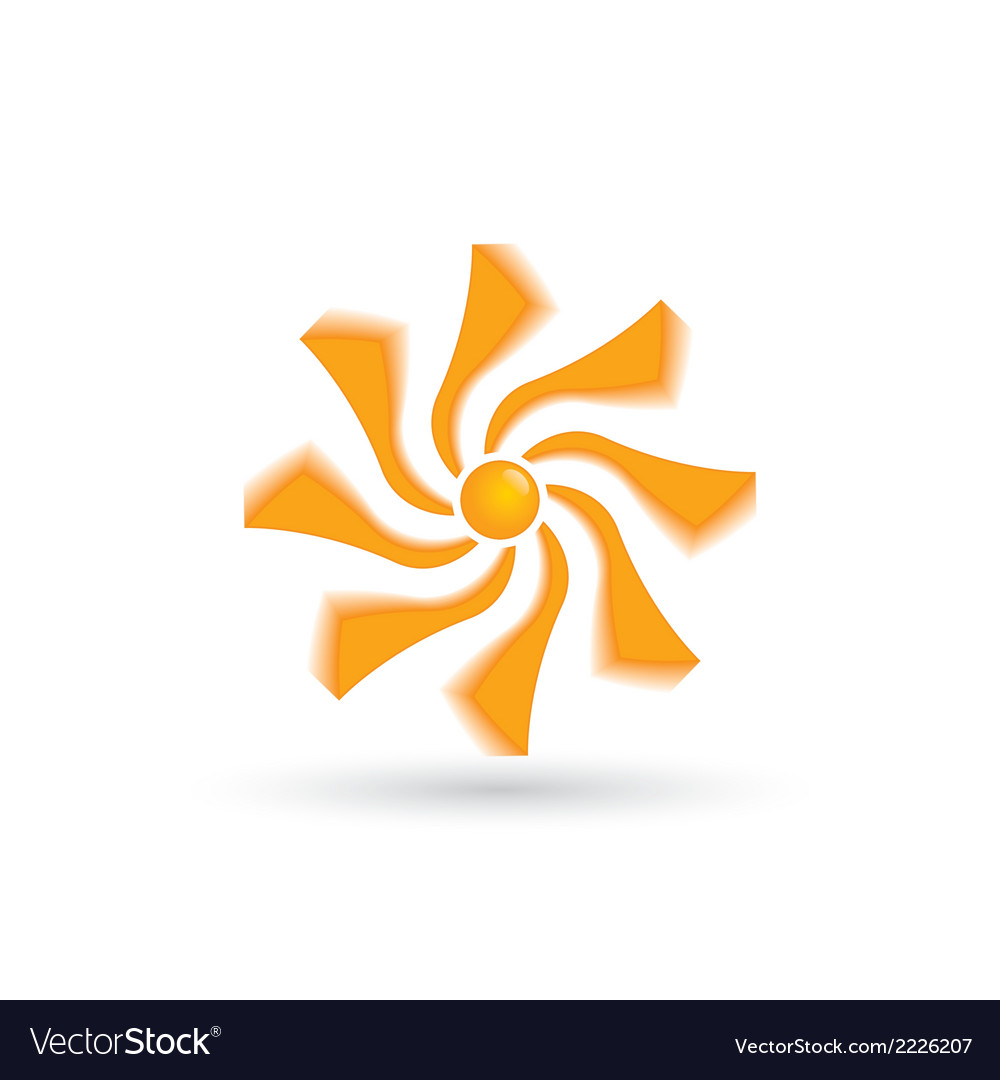 Sign of the sun vector | Price: 1 Credit (USD $1)