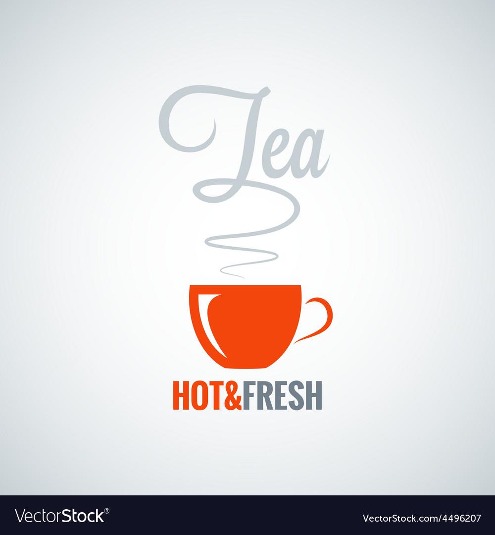Tea cup flavor background vector   Price: 1 Credit (USD $1)