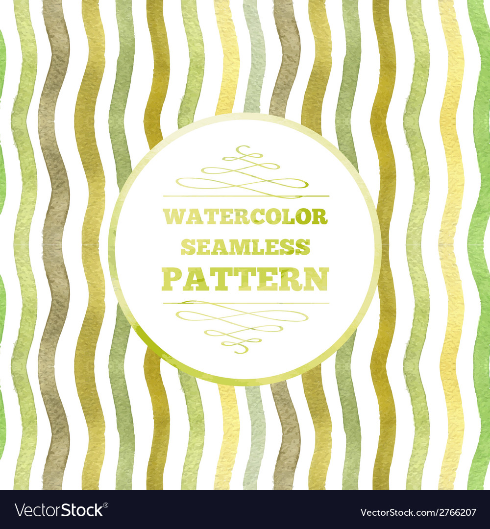 Watercolor waves vector | Price: 1 Credit (USD $1)
