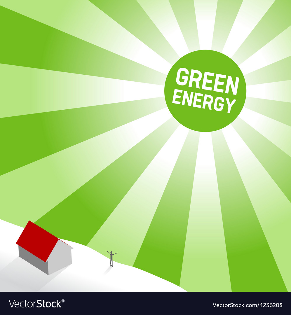 Green sun vector   Price: 3 Credit (USD $3)