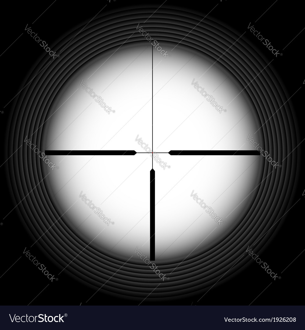 Rifle sight vector | Price: 1 Credit (USD $1)