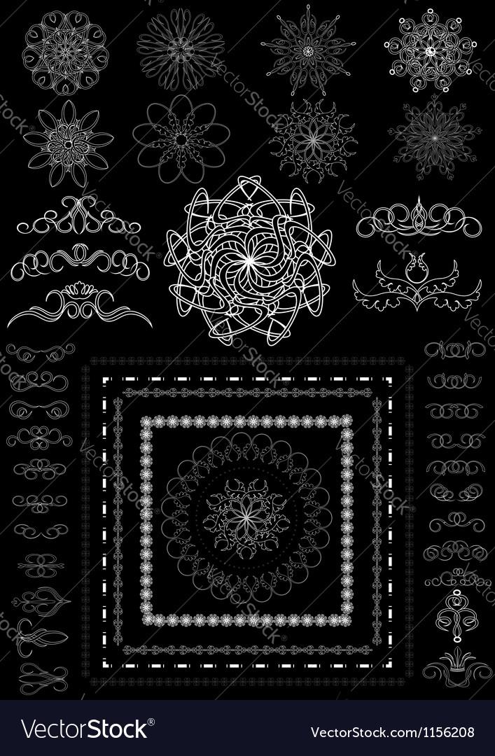 Version decorative calligraphic brush vector   Price: 1 Credit (USD $1)