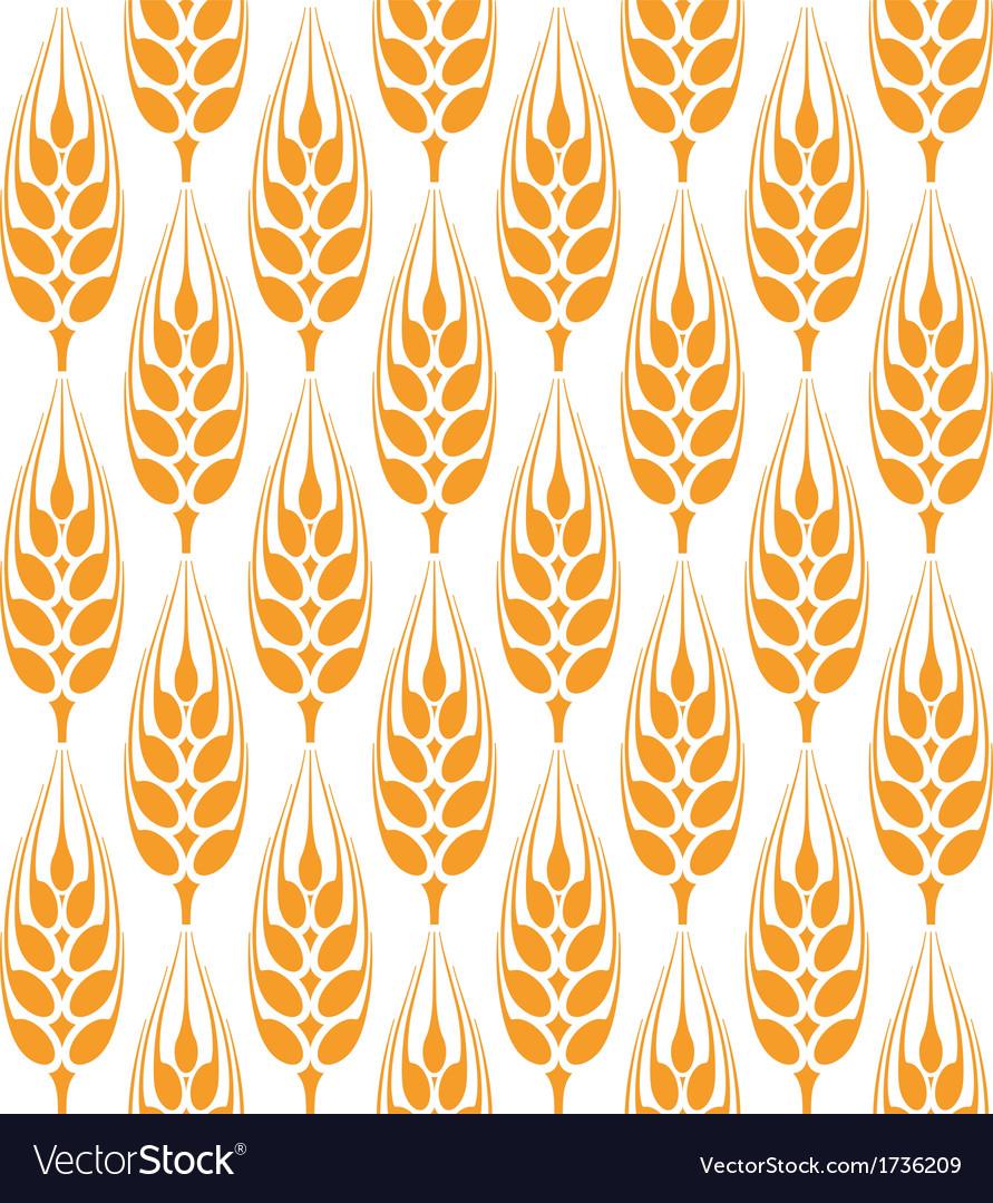 Barley pattern vector | Price: 1 Credit (USD $1)